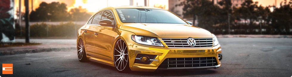 VW Passat CC on Concavo CW 12